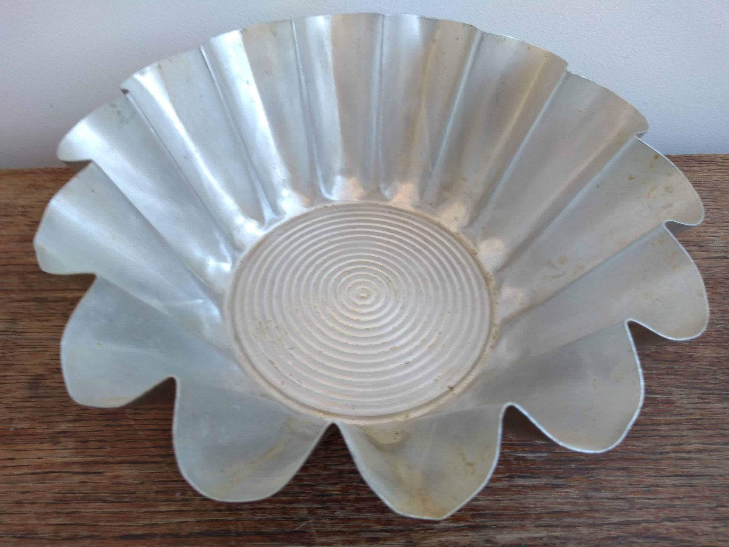 Vintage French Cake Pudding Baking Cooking Mould Tin Patisserie Lampshade Lamp Shade Light Fitting c 1950-60/'s  English Shop